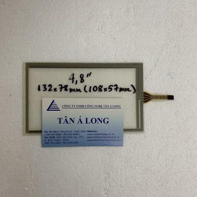 Tấm cảm ứng công nghiệp HMI 4.8 inch 132x78 mm (108x57 mm)