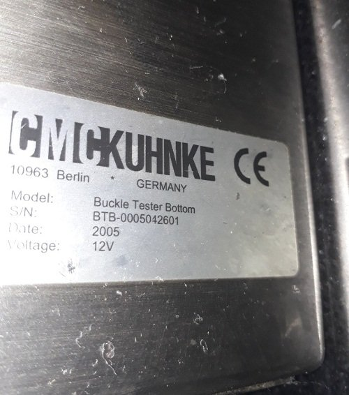 CMC Kuhnke Buckle Bottom Checker