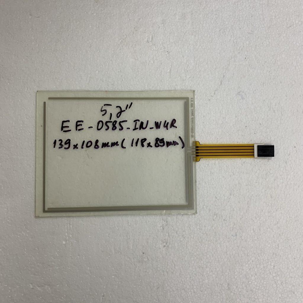 Tấm cảm ứng công nghiệp HMI 5.7 inch EE-0585-IN-W4R 139x108 mm