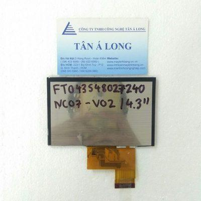Màn hình cảm ứng HMI 4.3 inch FT043S48027240NC07 V02
