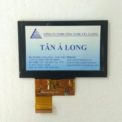Màn hình cảm ứng HMI 4.3 inch mã FT043S48027240NC07 V02