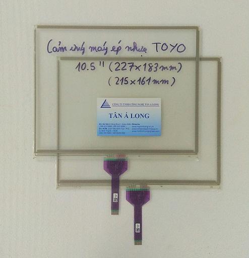 Màn hình cảm ứng HMI 10.5 inch máy ép nhựa TOYO 227x183 mm