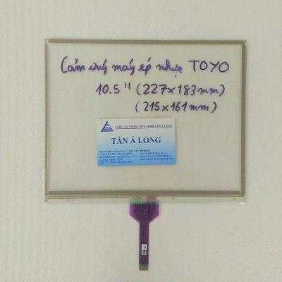 Màn hình cảm ứng HMI 10.5 inch máy ép nhựa TOYO