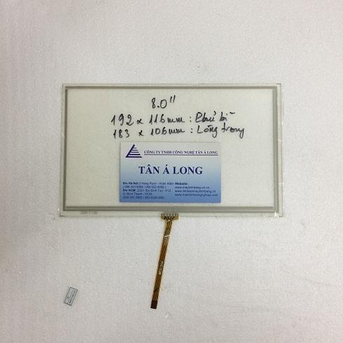 Màn hình cảm ứng HMI 8 inch 192x116 mm (183x106 mm)