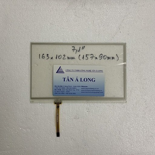 Màn hình cảm ứng HMI 7.1 inch 163x102 mm (157x90 mm)