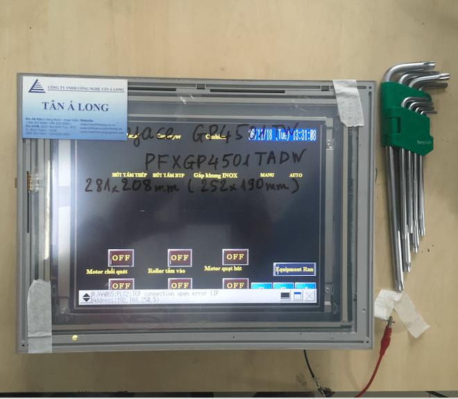 Bộ màn hình cảm ứng công nghiệp HMI Pro-face GP4501TW PFXGP4501TADW