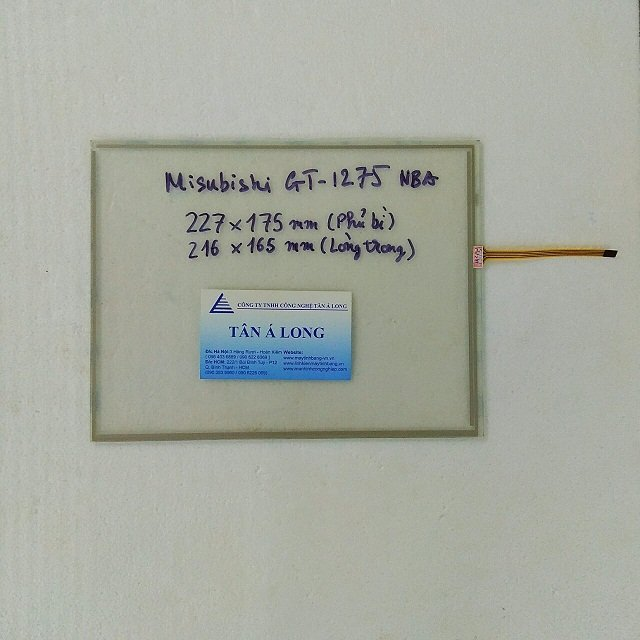 Tấm cảm ứng HMI Mitsubishi GT1275-VNBA