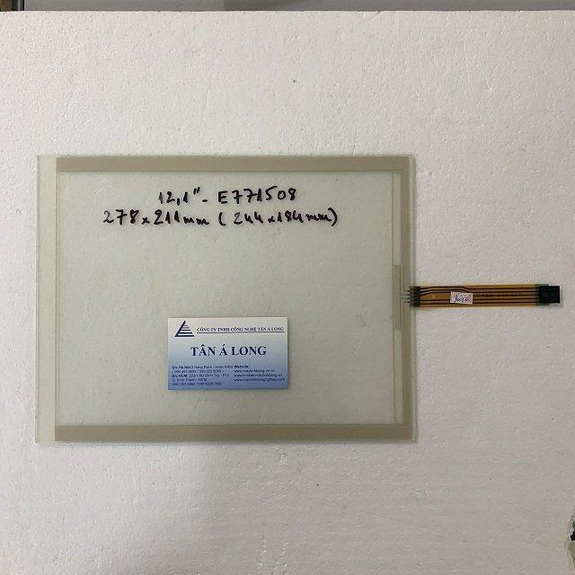 Tấm cảm ứng HMI 12.1 inch 5 dây 266x203mm ( 253x191mm )