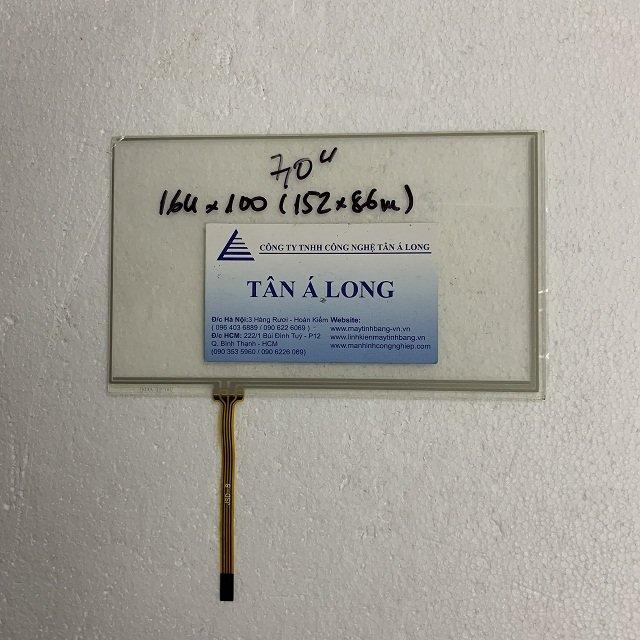 Cảm ứng công nghiệp HMI 7 inch cáp 4 chân 164x100 mm ( 152x86 mm)