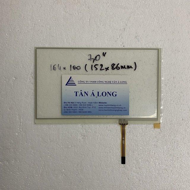 Tấm cảm ứng HMI 7 inch cáp 4 chân 164x100 mm ( 152x86 mm)