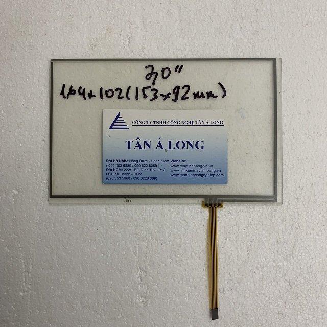 Tấm cảm ứng HMI 7 inch cáp 4 chân 164x102 mm ( 153x92 mm)