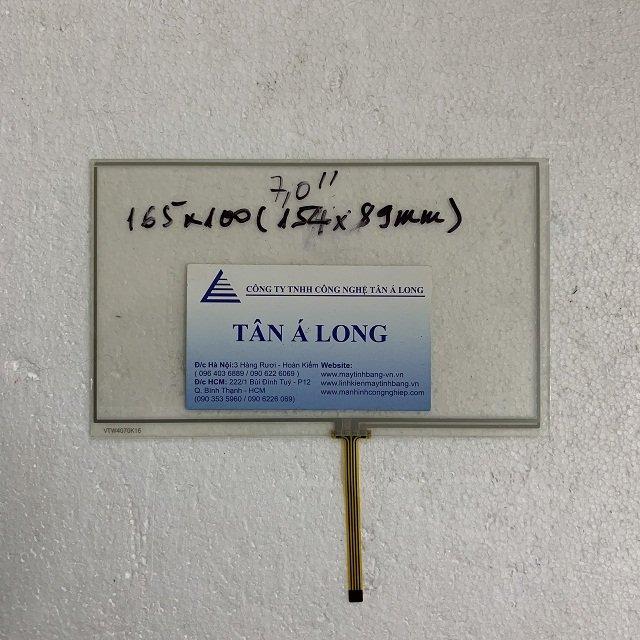 Tấm cảm ứng HMI 7 inch cáp giữa 165x100 mm ( 154x89 mm)