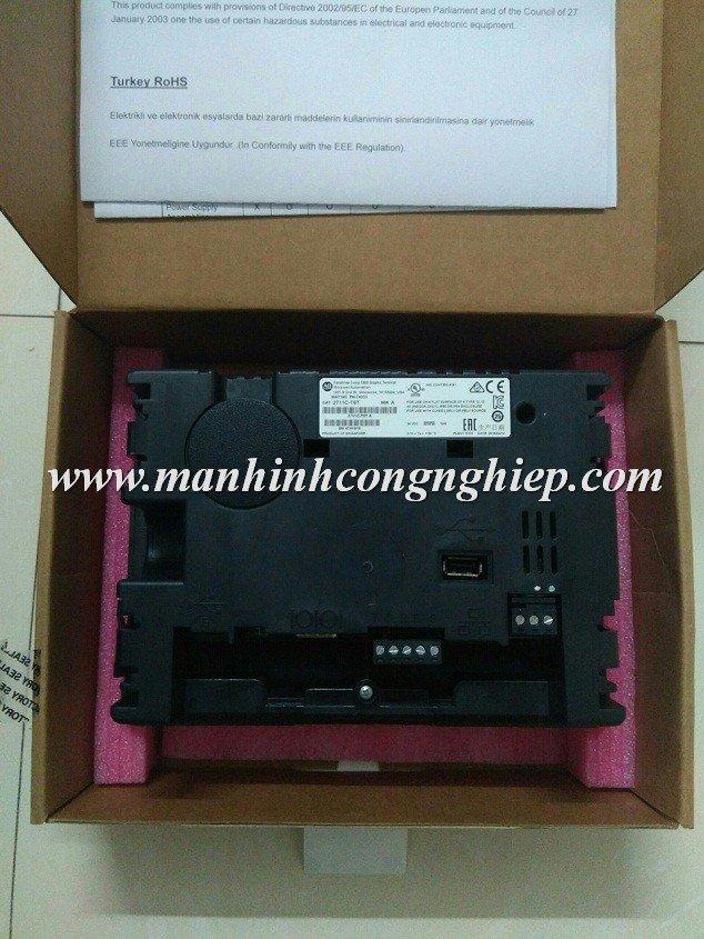 Bộ màn hình HMI PANELVIEW C600 AB 2711C-T6T